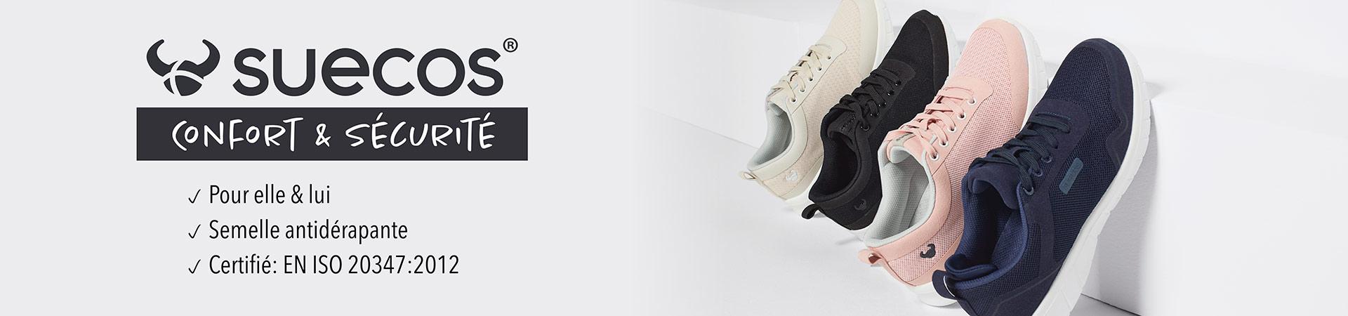 Chaussures antidérapante de suecos