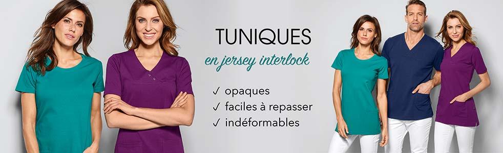 Tuniques jersey